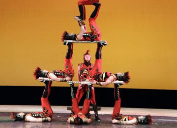 Martial Artist & Acrobats of China